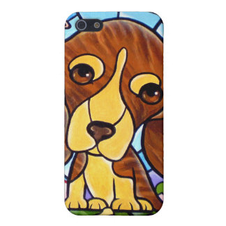 iPhone 4 and 4s Cases Dog Puppy Painting Art iPhone 5 Cover