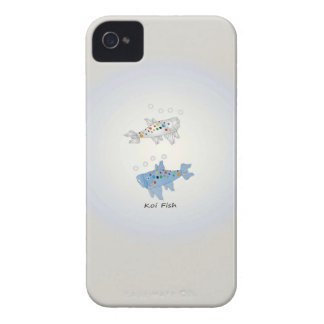 iPhone 4, Barely There With Opal Koi Fish iPhone4 Case