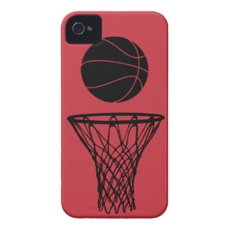 iPhone 4 Basketball Silhouette Bulls Red iPhone 4 Cover