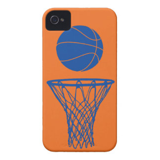 iPhone 4 Basketball Silhouette Knicks Orange iPhone 4 Cover