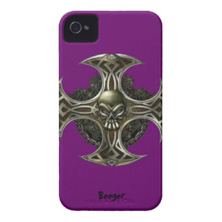 IPhone 4 bt - Metal blade iPhone 4 Case-Mate Case