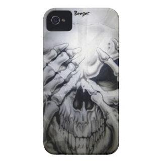 Iphone 4 bt - Peek-a-BOO Skull Case-Mate iPhone 4 Case
