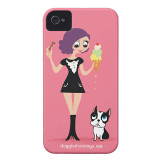 """iPhone 4 Case: Boogie Loves All-Mighty """"Beasley"""" Case-Mate iPhone 4 Case"""