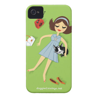 """iPhone 4 Case: Boogie Loves All-Mighty """"The Fanny"""" iPhone 4 Case"""
