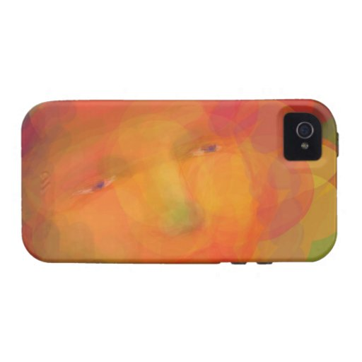 iphone 4 case Colorful Dreamy Face