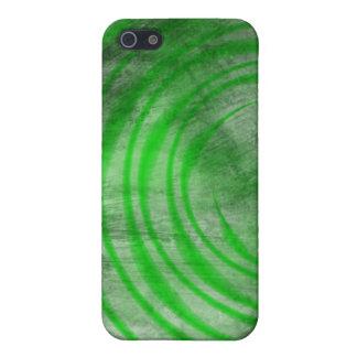 iPhone 4 Case - Ethereal Swirl dark green