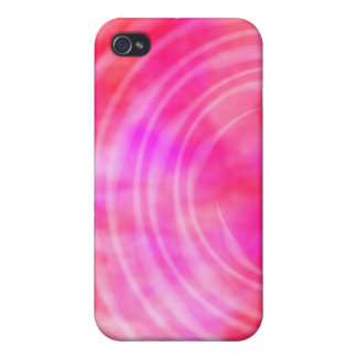 iPhone 4 Case - Ethereal Swirl pink
