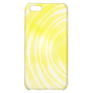 iPhone 4 Case - Ethereal Swirl yellow