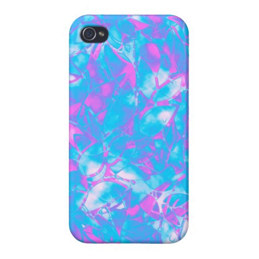 iPhone 4 Case Grunge Art Floral Abstract