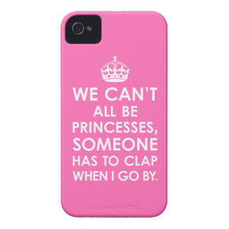 iPhone 4 Case Hot Pink We Can't All Be Princesses