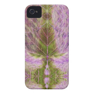 iPhone 4 Case leaf drawing