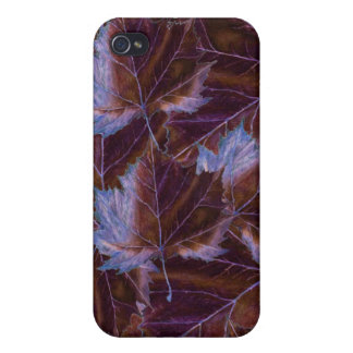 iPhone 4 Case leaves drawing