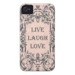 iphone 4 case.. .LIVE LAUGH LOVE
