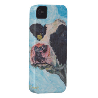 iPhone 4 Case-Mate Barely There™ - Irish Friesian