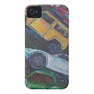 iPhone 4 Case-Mate Barely There™ - Toy Cars