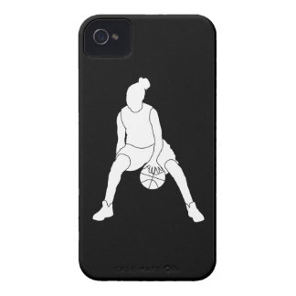 iPhone 4 Case-Mate Dribble Silhouette Black