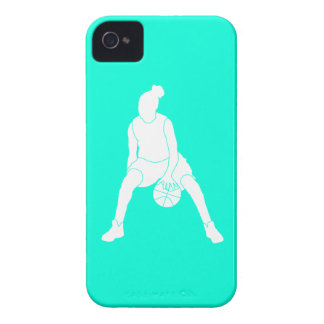 iPhone 4 Case-Mate Dribble Silhouette Turquoise Case-Mate iPhone 4 Case
