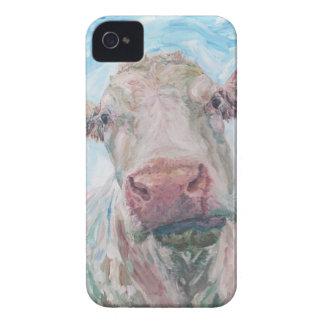 iPhone 4 Case-Mate ID™ - 0223 Irish Charolais Cow