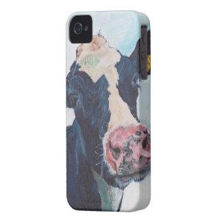 iPhone 4 Case-Mate ID™ - 0254 Irish Friesian Cow