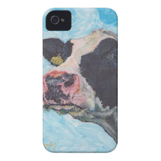 iPhone 4 Case-Mate ID™ - 0556 Irish Fresian Cow