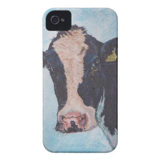 iPhone 4 Case-Mate ID™ - 0566 Irish Friesian Cow