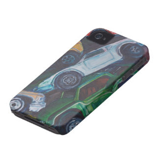 iPhone 4 Case-Mate ID™- Toy Cars