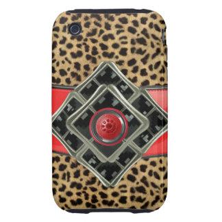 iPhone 4 Case-Mate Tough faux leopard iPhone 3 Tough Cases