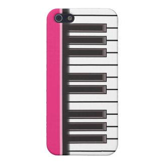 iPhone 4 Case - Piano Keys on Fuschia