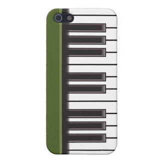 iPhone 4 Case - Piano Keys on Green