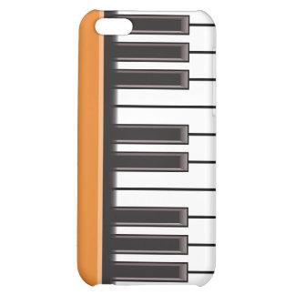 iPhone 4 Case - Piano Keys on Pumpkin