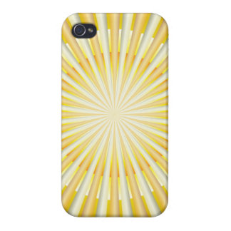 iPhone 4 Case Savvy Abstract Sun