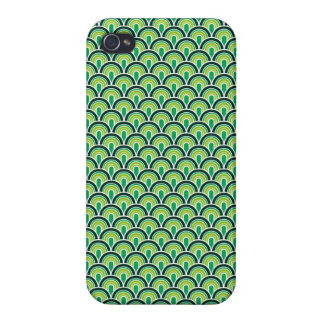 iPhone 4 Case Savvy Fabric Texture Retro Style