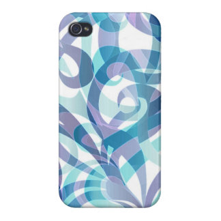 iPhone 4 Case Savvy Floral abstract background
