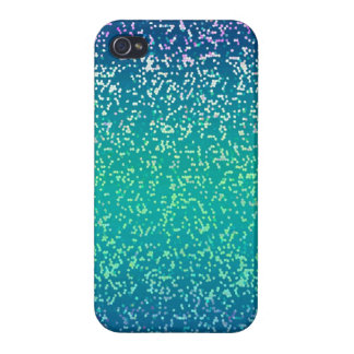 iPhone 4 Case Savvy Glitter Graphic Background