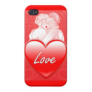 iPhone 4 Case Savvy Love Embrace