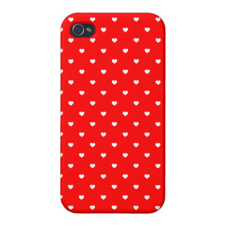 iPhone 4 Case Savvy Love Hearts