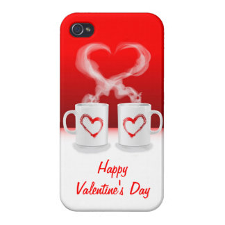 iPhone 4 Case Savvy Love Mugs