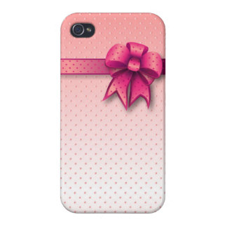 iPhone 4 Case Savvy Pink Bow