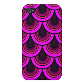 iPhone 4 Case seamless retro pattern