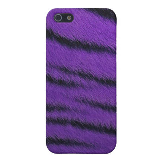 iPhone 4 Case - Tiger Fur - Purple