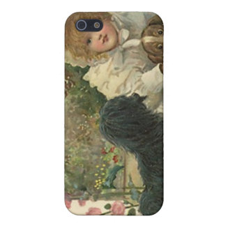 iPhone 4 Case Victorian with Collecting Stray Dogs