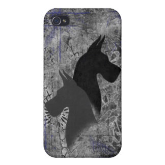 IPhone 4 Case With Great Danes