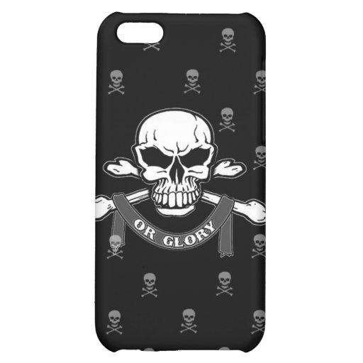 iPhone 4 Case with Skull & Crossbones
