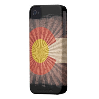 Iphone 4 Case with state flag of Colorado