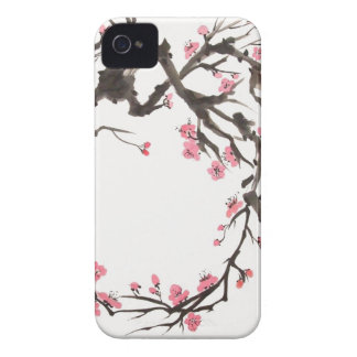 iPhone 4 Cherry Blossom Branch iPhone 4 Case-Mate Cases