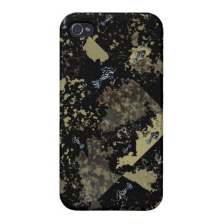 "iPhone 4 Glossy Case ""Fishy Fossils"" iPhone 4/4S Covers"