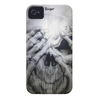 Iphone 4 ID - Peek-a-BOO Skull Case-Mate iPhone 4 Cases