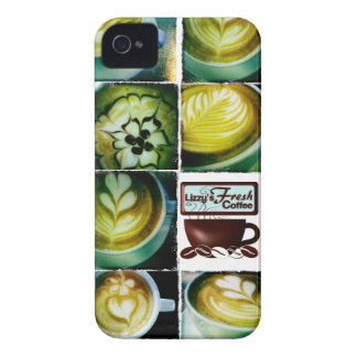 iphone 4 Lizzy's Coffee Baby Case