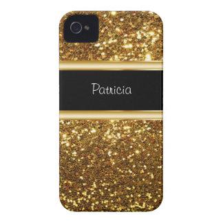 iPhone 4 Monogram Glitter Case