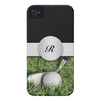 iPhone 4 Monogram Golf Cases